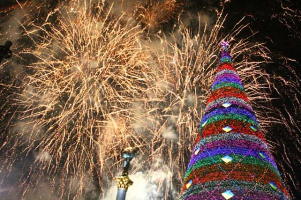 Когда на украине празднуют новый год в